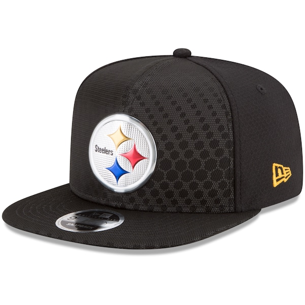 Men's Pittsburgh Steelers New Era Black 2017 Color all nfl icon jerseys