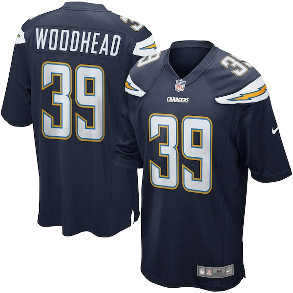 Nike Danny Woodhead Los Angeles Chargers Youth Gam gold man on nfl jersey